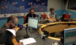 Paco Doblas, Fernando de Yarza y Alberto Sánches, en Aragón Radio